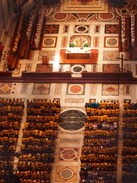 Misa di St. Peter's Basilica